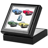 Cute Sports cars Keepsake Box