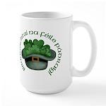 Shamrocks (Gaelic) Large Mug