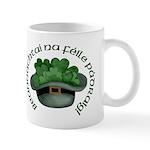Shamrocks (Gaelic) Mug