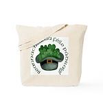 Shamrocks (Gaelic) Tote Bag