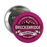 "Breckenridge Raspberry 2.25"" Button"