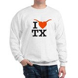 Cute I love waco Sweatshirt