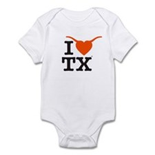 Cute Texas longhorns Infant Bodysuit