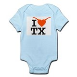 Unique Longhorns Infant Bodysuit