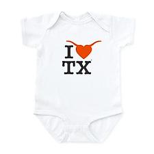 TX Longhorns Body Suit