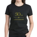 Stylish 30th Anniversary Tee