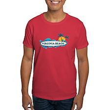 Virginia Beach - Surf Design T-Shirt