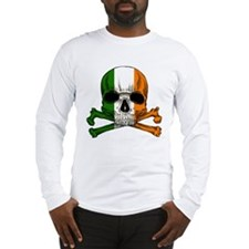 Irish Skull n' Crossbones Long Sleeve T-Shirt