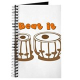 Tabla Beat It Journal
