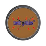 Teen Genies&#8482 Wall Clock