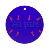 Teen Genies&#8482 Ornament (Round)
