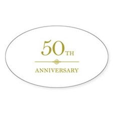 Stylish 50th Anniversary Decal