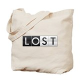 LOST - Clock Face Tote Bag