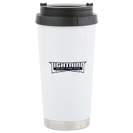 Lightning Muay Thai Gym Ceramic Travel Mug