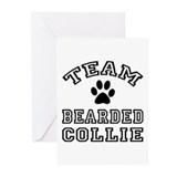 Team Bearded Collie Greeting Cards (Pk of 10)