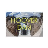 ABH Hoover Dam Rectangle Magnet (100 pack)