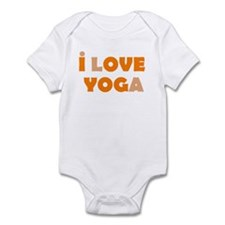 I LOVE YOGA Infant Bodysuit