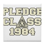 revenge of the nerds pledge c Tile Coaster