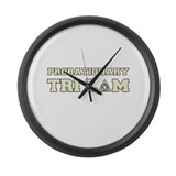 revenge of the nerds probatio Large Wall Clock