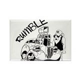 Rumble Rectangle Magnet (10 pack)