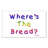Missing Bread Passover Decal
