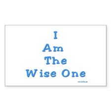 The Wise One Passover Decal
