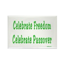 Celebrate Passover Rectangle Magnet (10 pack)
