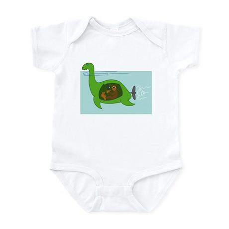 Bigfoot and Nessie Infant Bodysuit