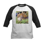 MAD HATTER'S TEA PARTY Kids Baseball Jersey