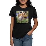 MAD HATTER'S TEA PARTY Women's Dark T-Shirt