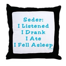 Seder Activites Passover Throw Pillow