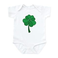 4 leaf clover - Infant Bodysuit