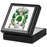 Peral Coat of Arms Keepsake Box