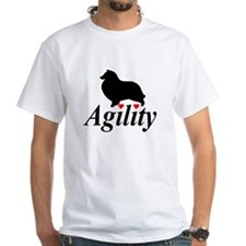 """Shelties Love Agility"" Shirt"