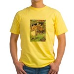 MAD HATTER'S TEA PARTY Yellow T-Shirt