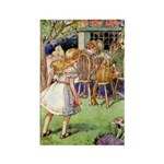 MAD HATTER'S TEA PARTY Rectangle Magnet (100 pack)