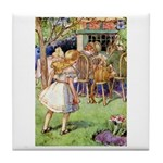 MAD HATTER'S TEA PARTY Tile Coaster