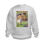 MAD HATTER'S TEA PARTY Kids Sweatshirt
