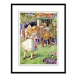 MAD HATTER'S TEA PARTY Large Framed Print