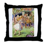 MAD HATTER'S TEA PARTY Throw Pillow