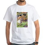 MAD HATTER'S TEA PARTY White T-Shirt