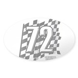 Flag No. 72 Decal