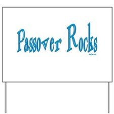 Passover Rocks Yard Sign