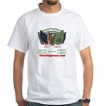 Irish Brigade & Flags White Tee-Shirt