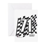 Flag No. 71 Greeting Cards (Pk of 20)