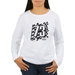 Flag No. 73 Women's Long Sleeve T-Shirt