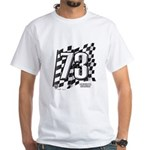 Flag No. 73 White T-Shirt