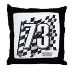 Flag No. 73 Throw Pillow