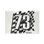 Flag No. 73 Rectangle Magnet