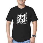 Flag No. 73 Men's Fitted T-Shirt (dark)